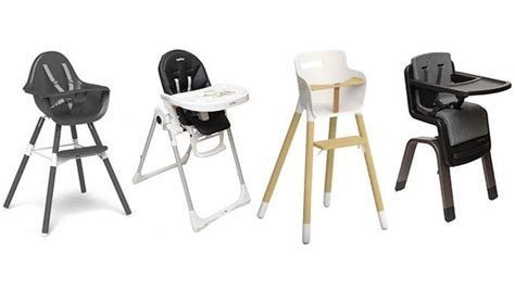 les chaises hautes 4 chaises hautes point 233 es du doigt magicmaman com