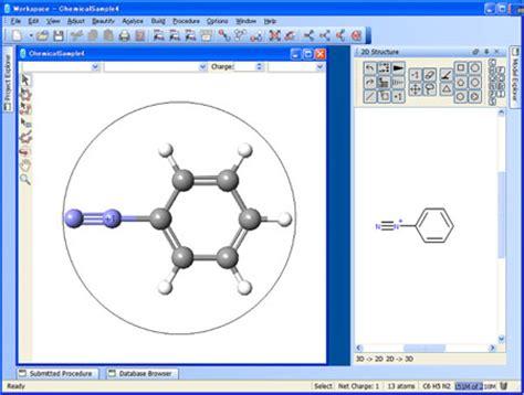 Chem Structure Drawer by Scigress Fujitsu Global