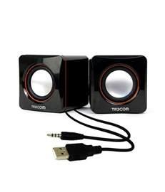 Best Small Desktop Computer Speakers Buy Tricom Multimedia Wired Usb Mini Speaker For Desktop
