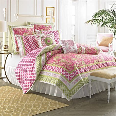 raspberry comforter dena home chinoisere comforter bed bath beyond