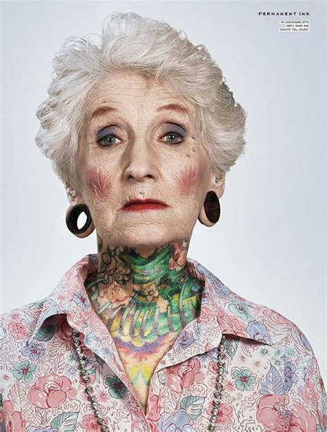 old person with tattoos 21 tattooed seniors answer the age question how will