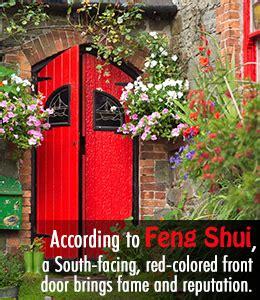 Feng Shui Front Door Facing South Auspicious Feng Shui Colors For Your Front Door