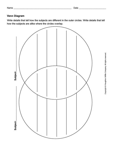 Interactive Venn Diagram Template by Interactive Venn Diagram Template Motif