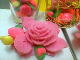 Sabun Mandi Giv keterilan membuat bunga dari sabun mandi pks