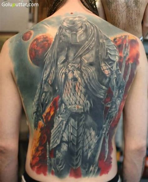 tattoo you back cover alien predator tattoos and photo ideas page 4