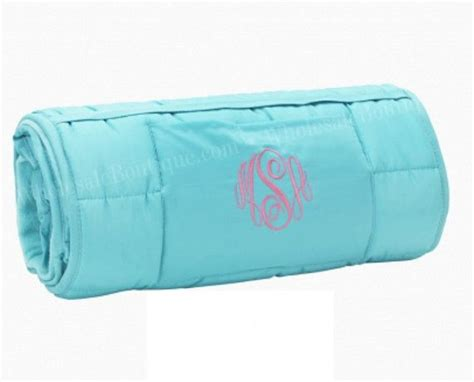Roll Up Nap Mat by Personalized Roll Up Nap Mat With Blanket And Pillow For
