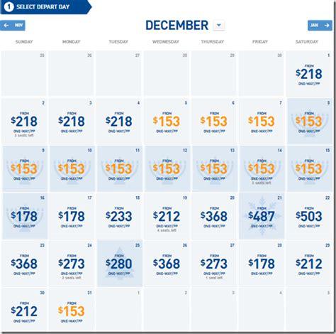 Airfare Calendar You Seen Jetblue S Month Fare Search