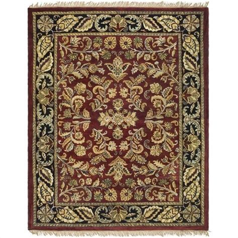 Rectangle Rug by Safavieh Heritage Rectangle Rug In Black Hg170b 8