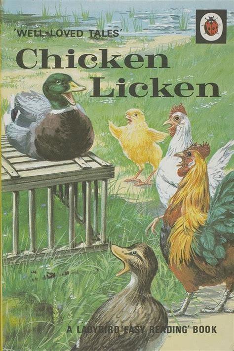 and chicken books ladybird book cover chicken licken illustration