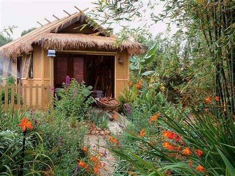 Garden Sheds Thatched Roof Garden Ftempo City And Guilds Walled Garden Login