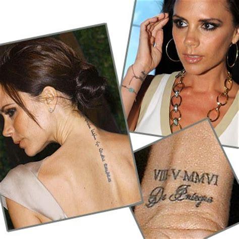 tattoo victoria beckham wrist 100 of victoria beckham tattoo design ideas picture gallery