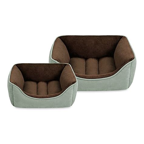 faux suede backrest bed bath beyond softtouch faux suede reversible rectangular cuddlers in