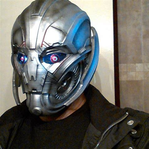 printable ultron mask fan made ultron mask there is no nose on me technabob