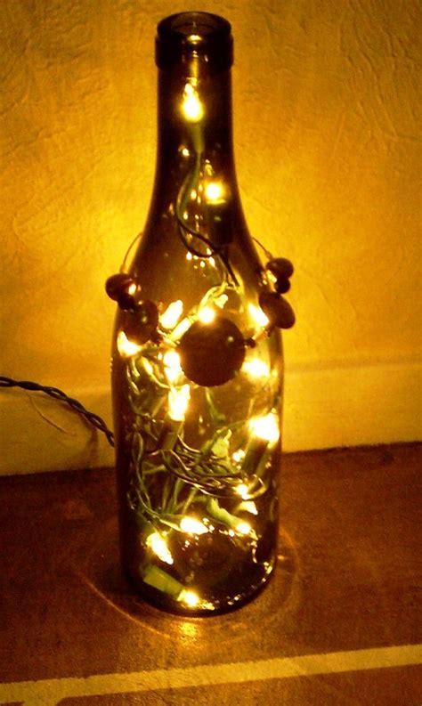 christmas lights decorations  glass bottles decoration love