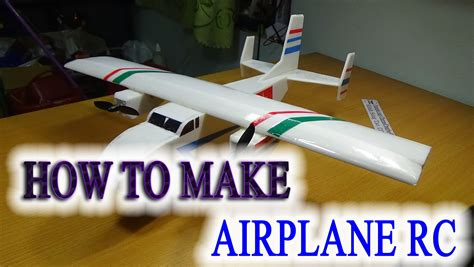 How To Make Rc Paper Plane - how to make a airplane rc the cargo plane