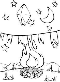 Desenhos de Festa Junina para colorir   Cliquetando