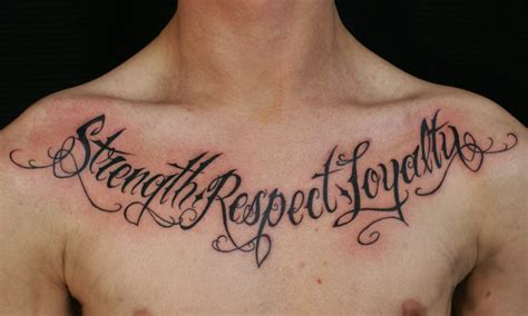 Tattoo Chest Sentence | 80 best life quotes tattoo pictures