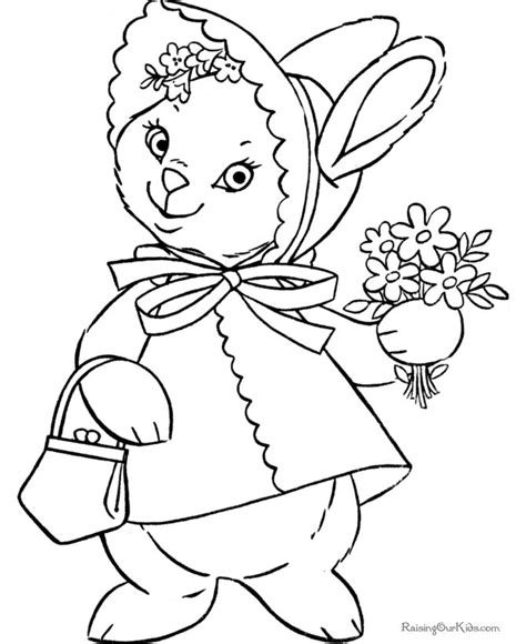 bunny valentine coloring pages 74 best color makes the world a little brighter images on