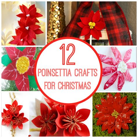 poinsettia craft project 12 poinsettia crafts for planet smarty
