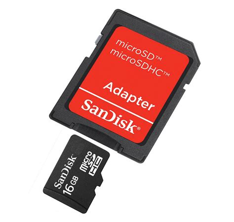 Micro Sd 16gb Sandisk sandisk 16gb micro sd sdhc memory card with adaptor