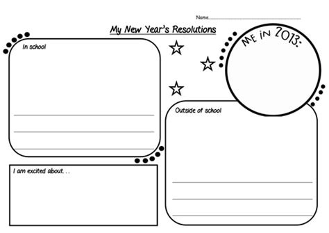 new year activities tes new year s resolution worksheet by chilli bean teaching