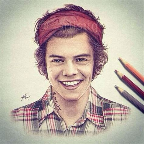 i really wanted to draw some hair styles by solstice 11 on harry styles drawings and amazing drawings on pinterest
