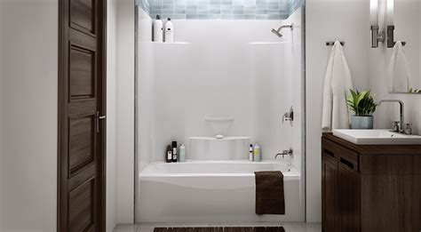 one piece acrylic bathtub shower one piece acrylic tub shower insert for the home