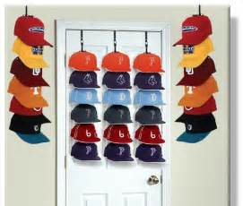 professional cap rack storage system for door or wall 5