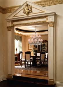 Dining Room Entrance With Columns Pilasters And Adding Definition To Exterior Or Interior Of