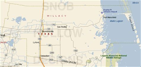 raymondville texas map willacy county texas color map
