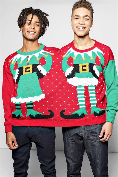 Matching Jumpers For Him And Two Person Jumper From Boohoo Boohoo