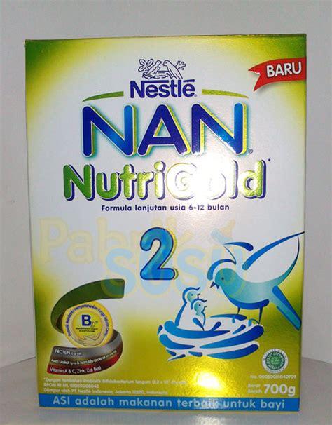 Nutribaby Soya 2 400g nan 2 nutrigold 700g pabrik detil toko