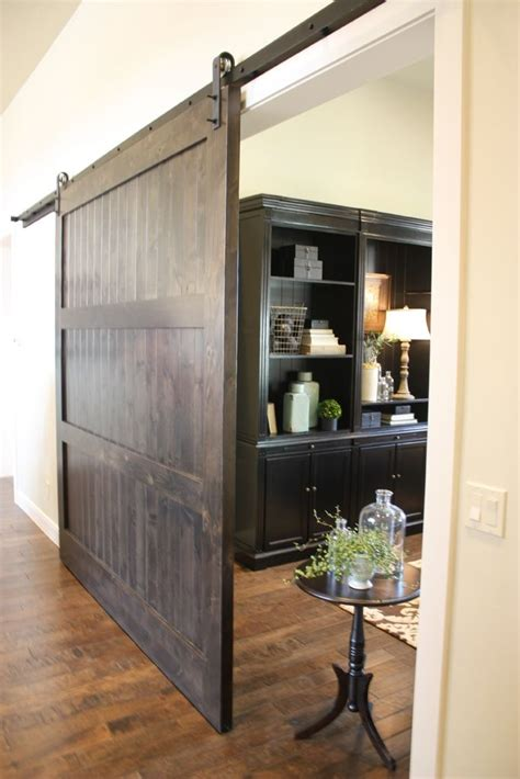 Custom Knotty Alder Barn Door By Riverwoods Mill Custom Interior Barn Doors