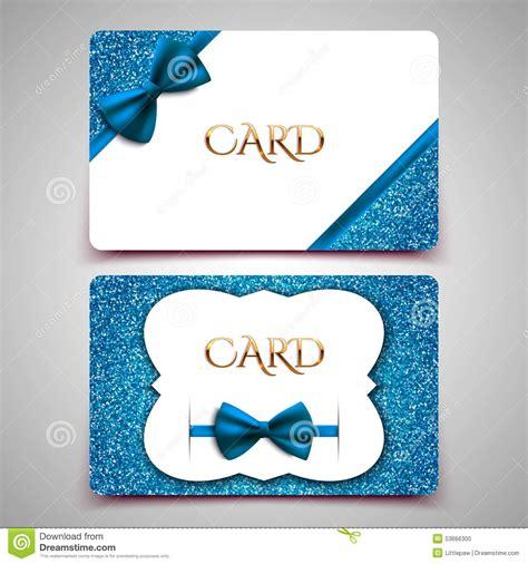 Vector Template Cards Cartoon Vector Cartoondealer Com 70305933 Card Template Blue