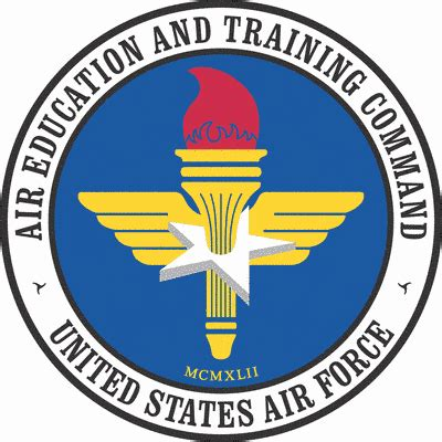 education and training clipart clipart air education and training command seal clip art download