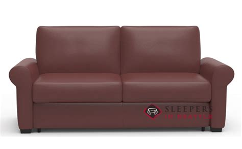 Customize And Personalize Sleepover Full Leather Sofa By