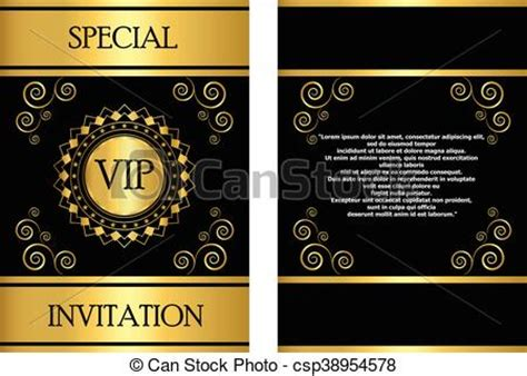 free vip ticket template on business card stock vip invitation card template a golden vip invitation card