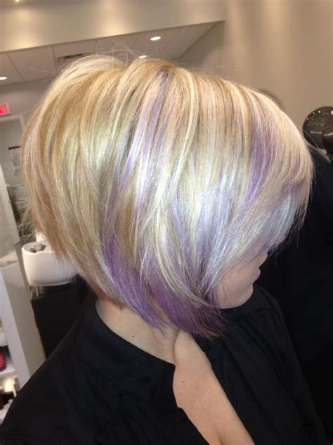 hairstyles blonde and purple 143 best images about blonde hair on pinterest bobs