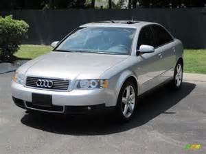 Audi 2003 A4 2003 Light Silver Metallic Audi A4 3 0 Quattro Sedan