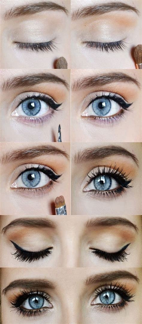 eyeshadow tutorial for round eyes 17 meilleures id 233 es 224 propos de tutoriel de maquillage des