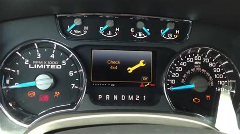 2017 Ford F150 Lights Not Working by Free Fix For P1867 Code Check 4x4 Non Working