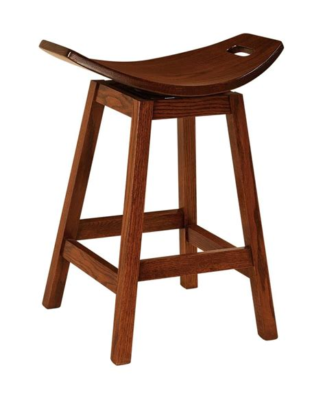 saddle bar stools amish bar stool swivel saddle furniture barstool solid