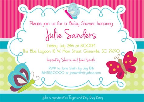 butterfly invitation template baby shower butterfly invitations gangcraft net