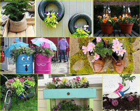 how to create diy landscaping ideas on a budget for 40 inventive diy garden planters that will transform your
