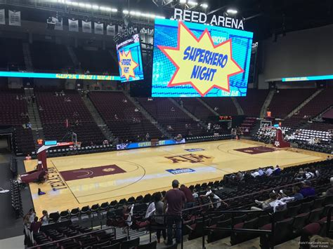reed section reed arena section 107 rateyourseats com