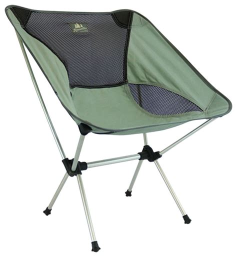 Outdoor Portable Folding Chairs by Kawartha Portable Lawn Chair Gray