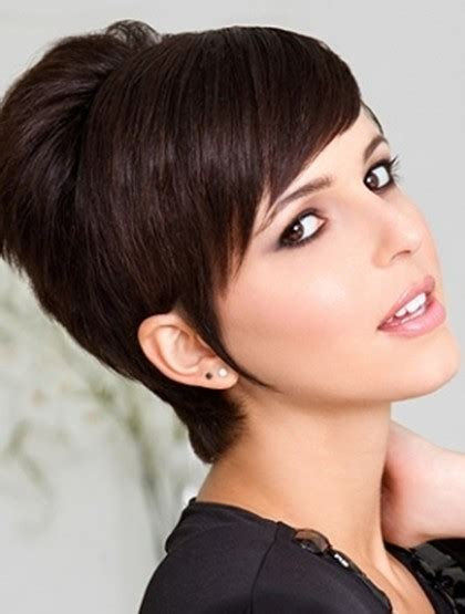 pictures of pixiehaircuts with bangs short pixie haircut with side swept bangs popular haircuts