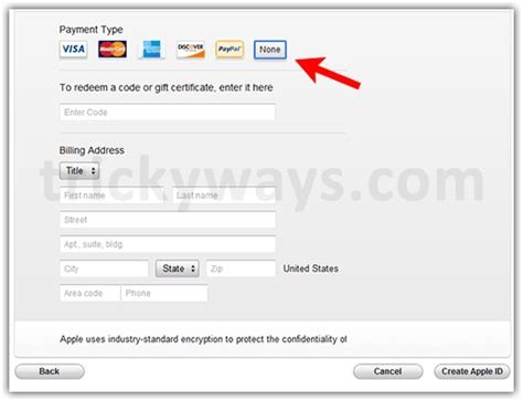 how to make a itunes account without a credit card how to create itunes account without credit card paypal
