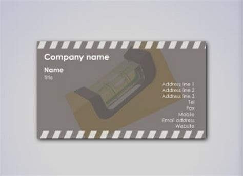 Calling Card Template Construction by 21 Construction Business Cards Free Psd Ai Eps Format