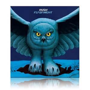 Owl Accessories Vinyl Rush Fly By Night Rush Backstage Club U S